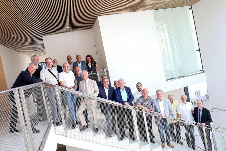 50 Jahre nach der Matura wieder in der HTL Goethestraße