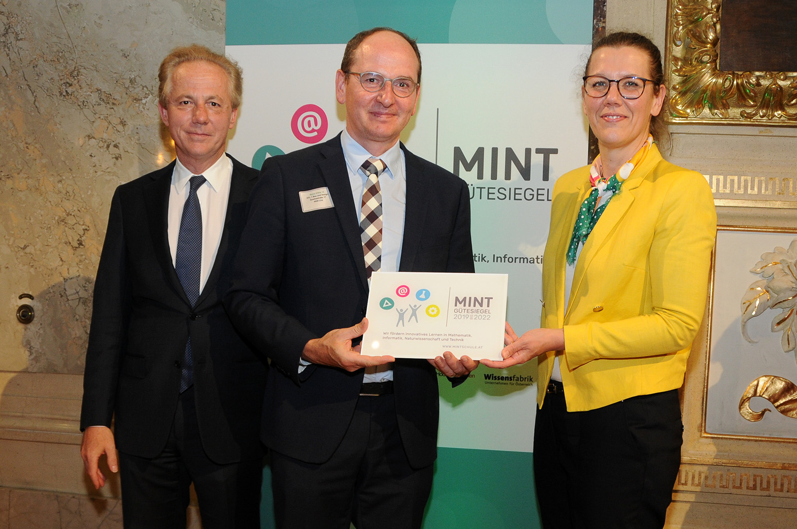 "HTL1 Bau und Design goes ""MINT-Community"""