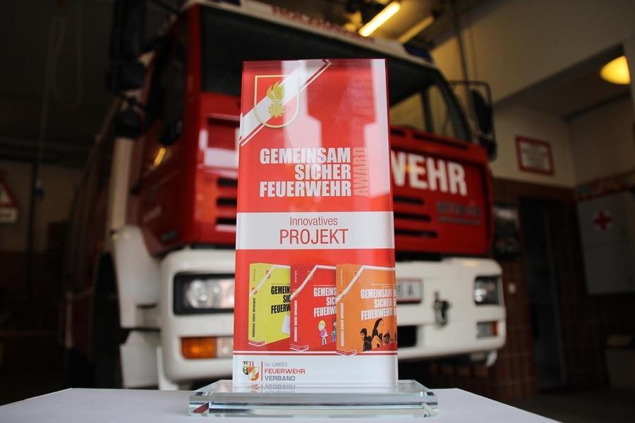 Gemeinsam Sicher Feuerwehr Award für HTL1 Projekt