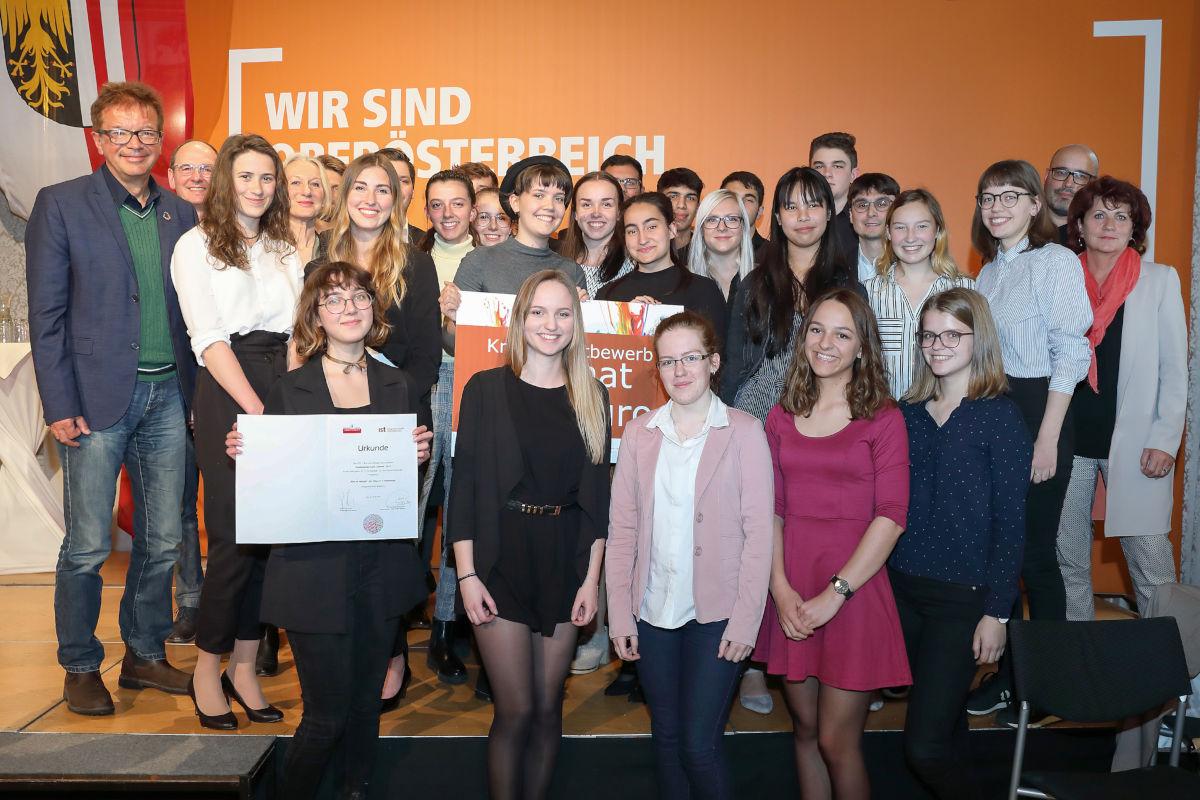 HTL1 Abteilung Grafik- und Kommunikationsdesign gewinnt den Heimat-Kreativwettbewerb der Integrationsstelle Oberösterreich