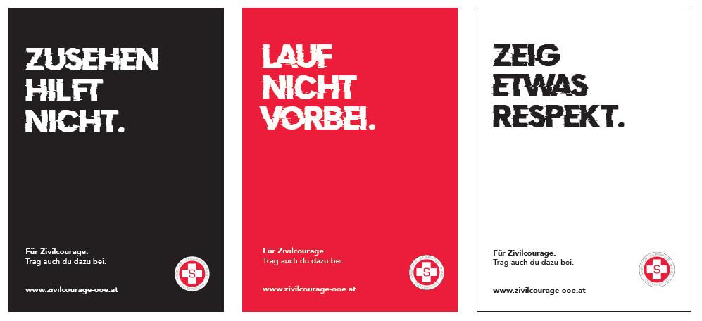 Jahresthema Zivilcourage an der HTL1 Bau und Design Linz