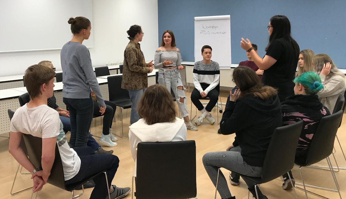 Workshop mit Trainern des Mauthausen-Komitees