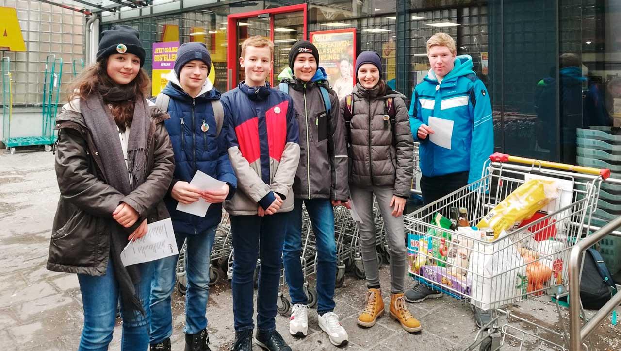 Soziale Verantwortung in Kooperation mit young caritas