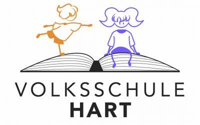 Neues Schullogo für die VS Hart in Zusammenarbeit mit der HTL1